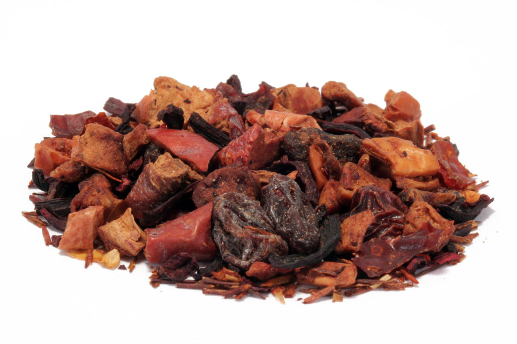 8184-Fruit cinnamon plum fruit tea from Distinctly Tea Inc.