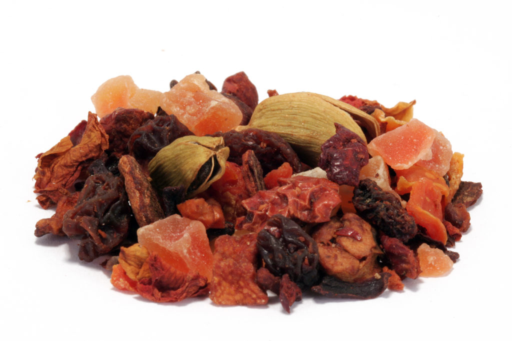 8710-Fruit pumpkin spice fruit loose leaf tea from Distinctly Tea Inc.