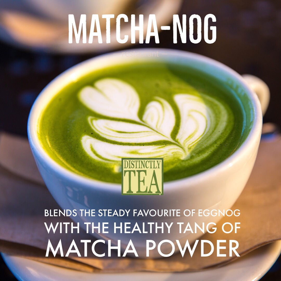 Matcha-nog recipe