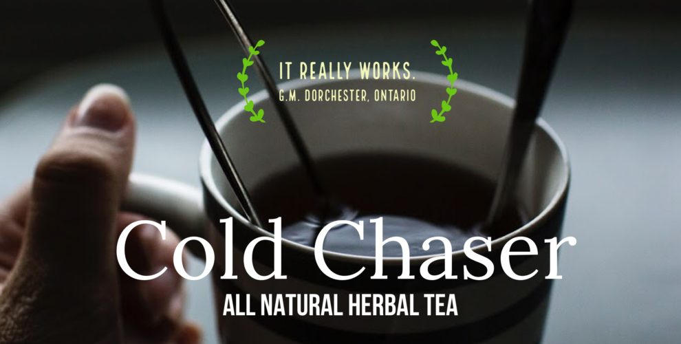 Cold chaser tea blend from Distinctly Tea Inc