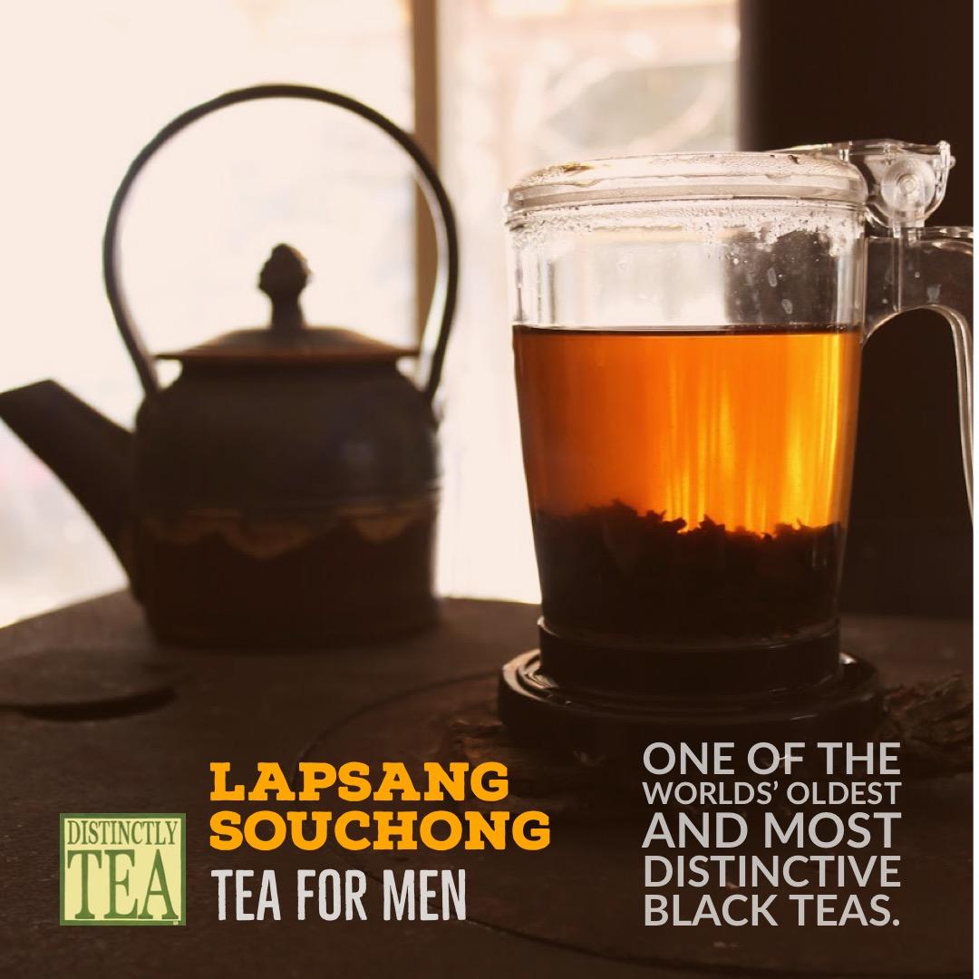 Lapsang souchong Black Tea scene distinctly tea