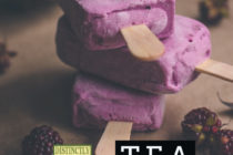 TEA Popsicle recipes from distinctly tea inc