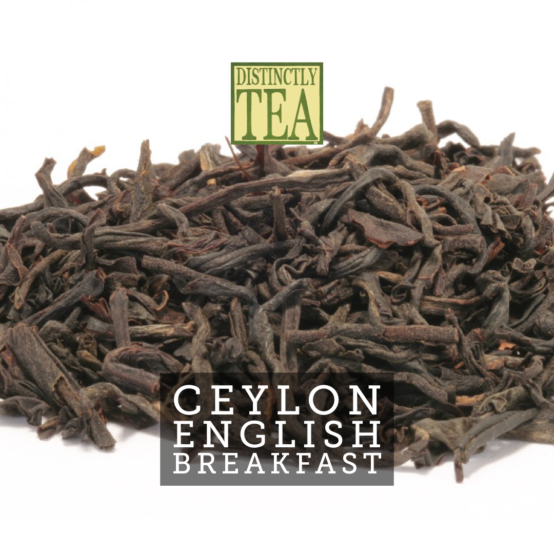 Ceylon English breakfast tea from distinctly tea inc