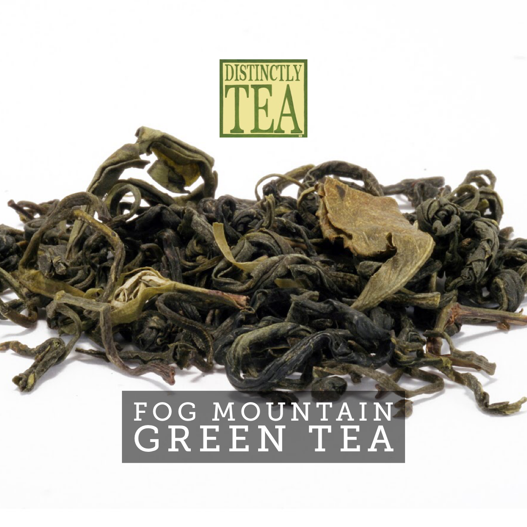 Fog Mountain Green tea from distinctly tea inc
