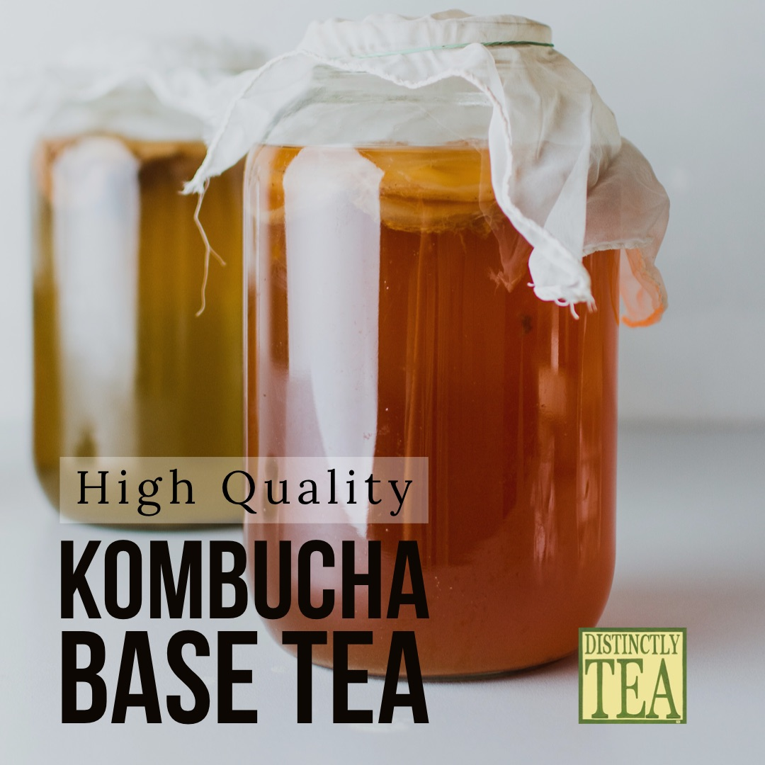 kombucha tea base with high quality tea