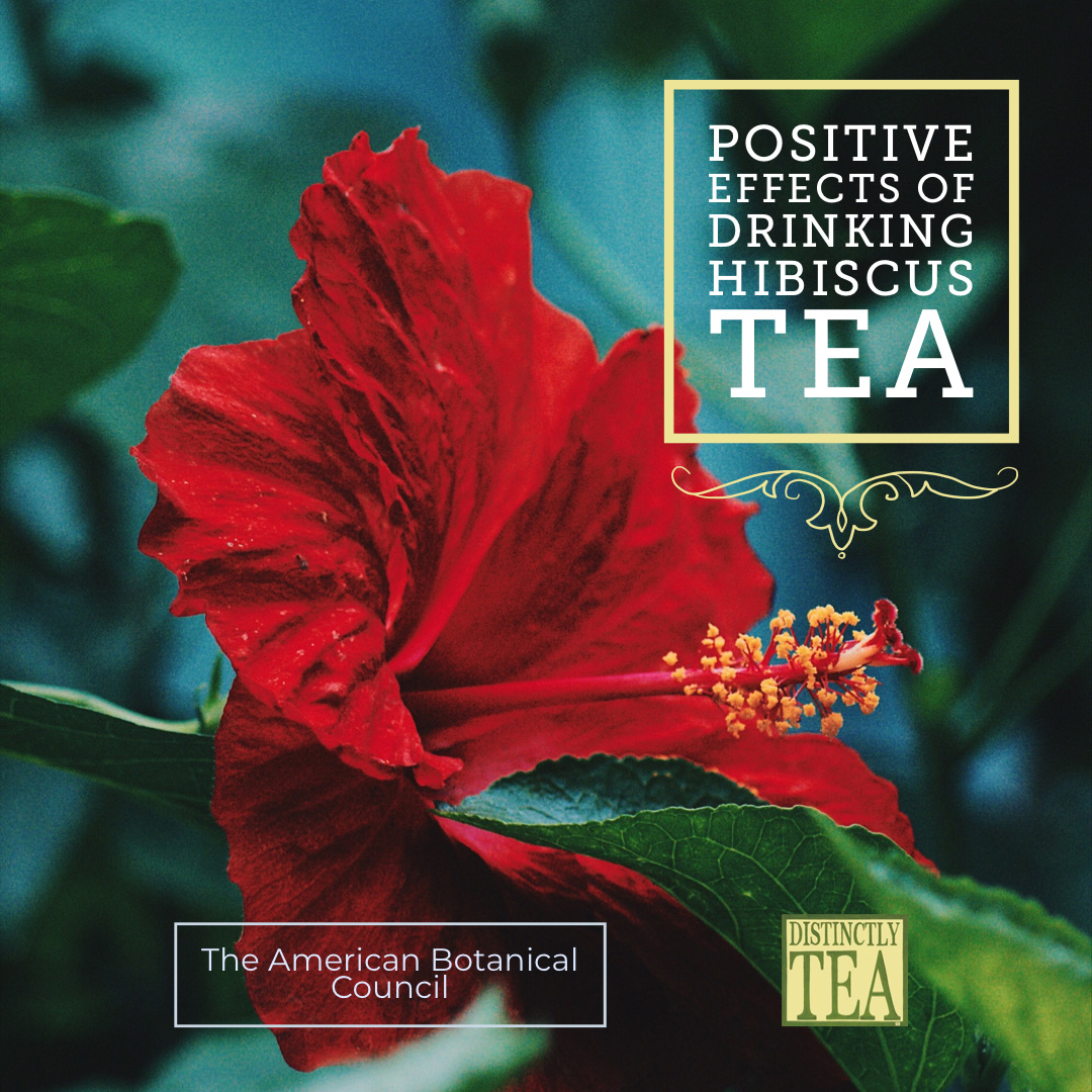Positive Effects of Drinking Green and Hibiscus Tea
