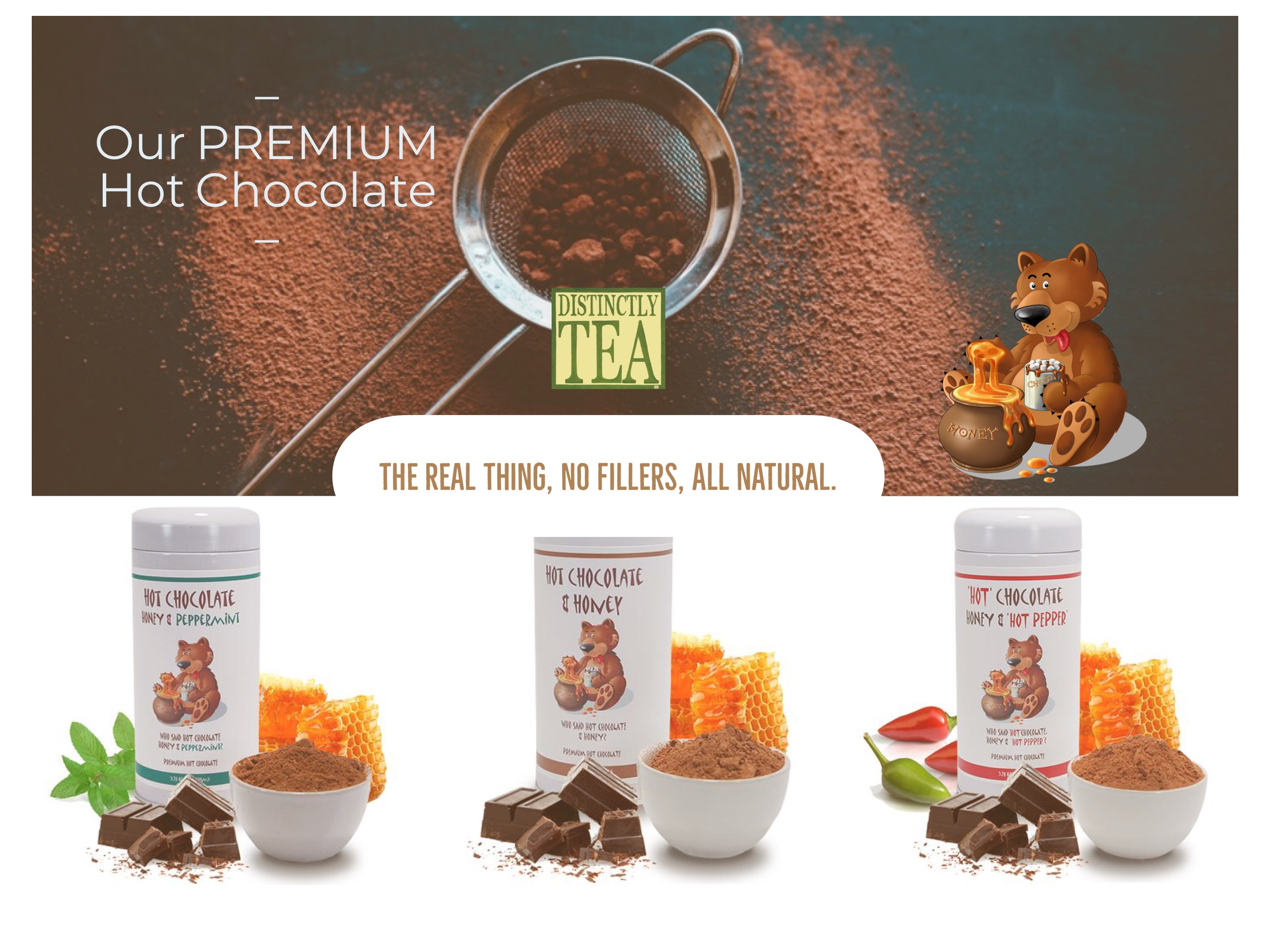hot chocolate mix by distinctly tea.