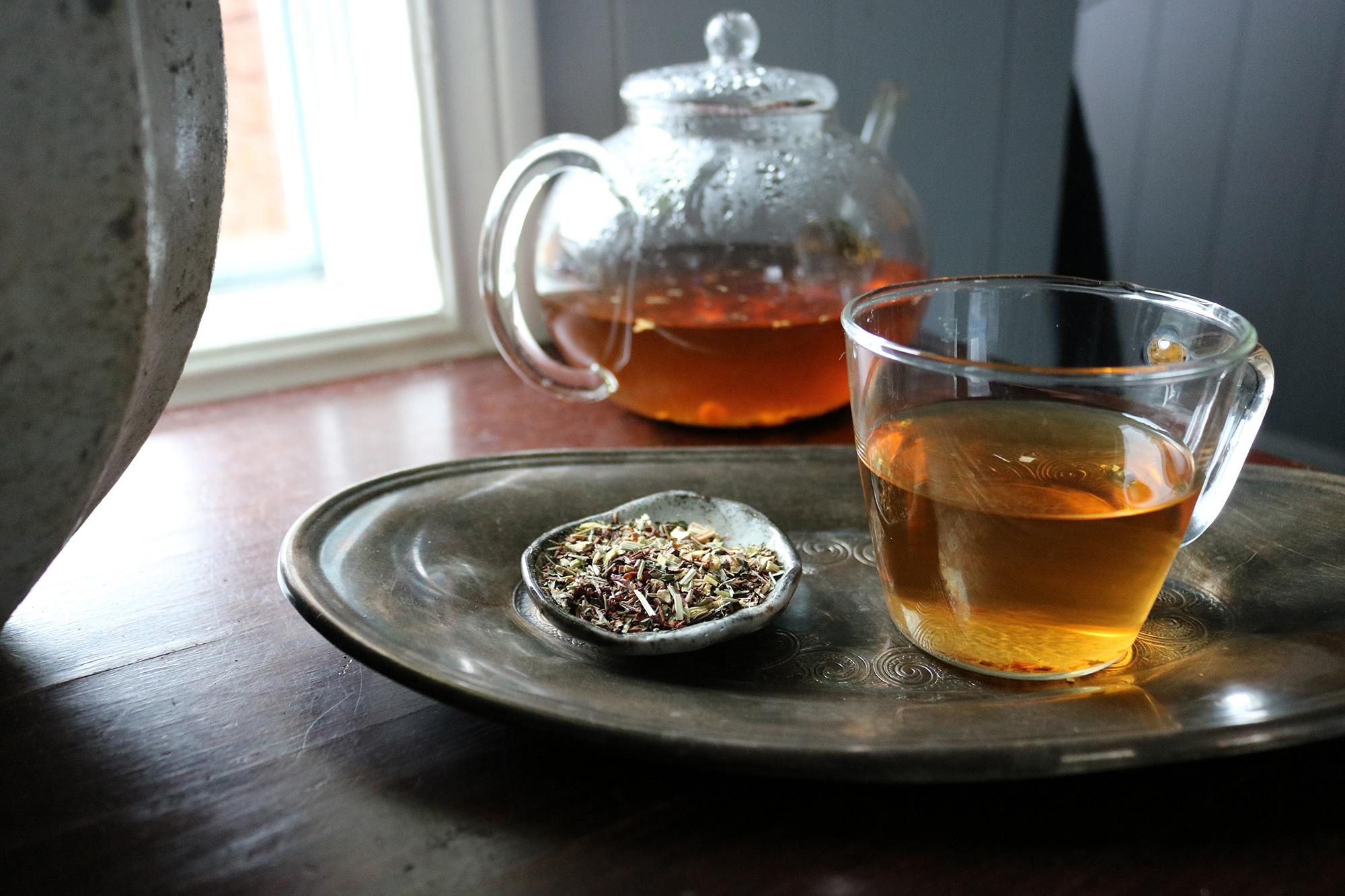 a gentle detox tea to your diet may help your body cleanse itself