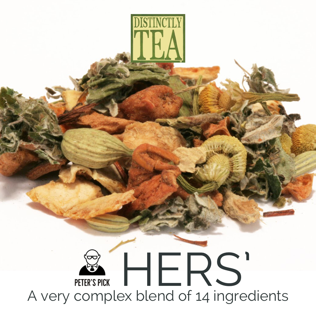 Hers is a German herba tea blend developed especially for women