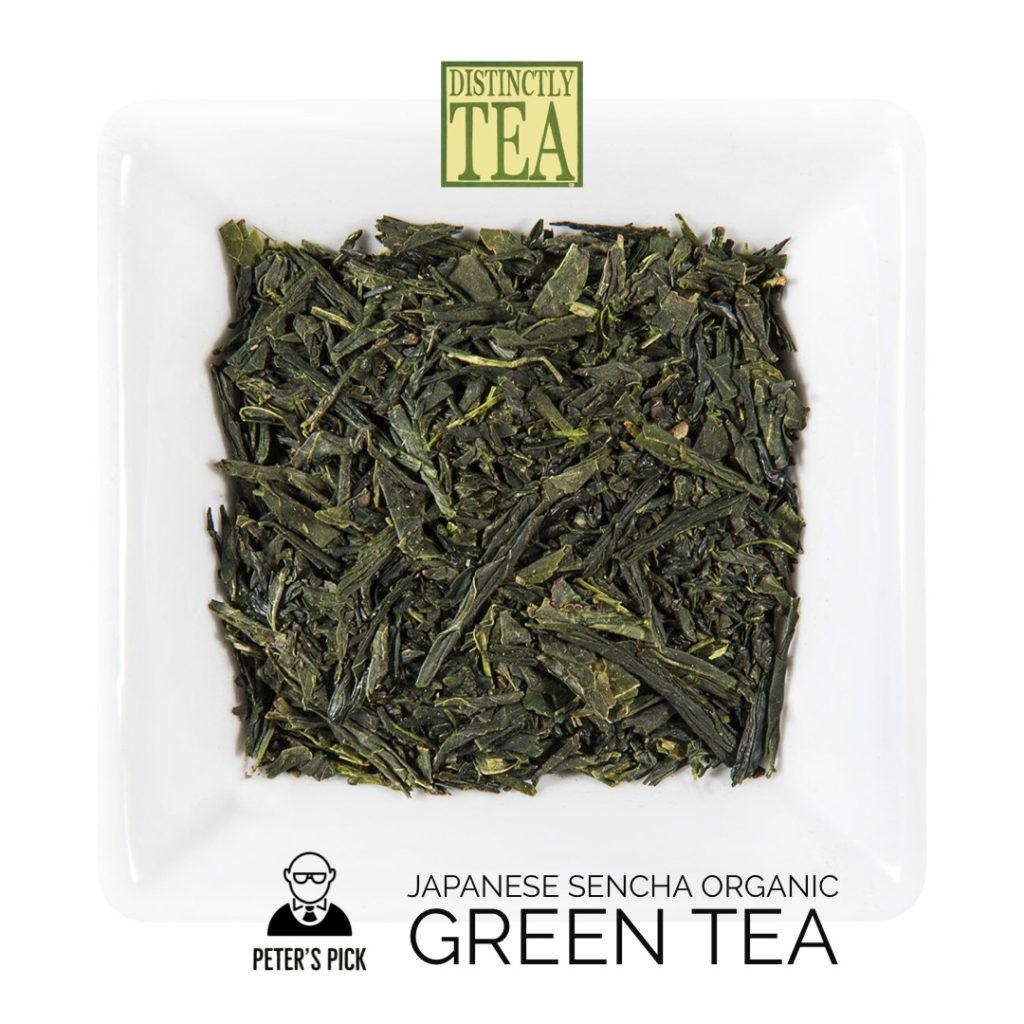 Japanese Sencha Organic Green Tea from distinctly tea 2