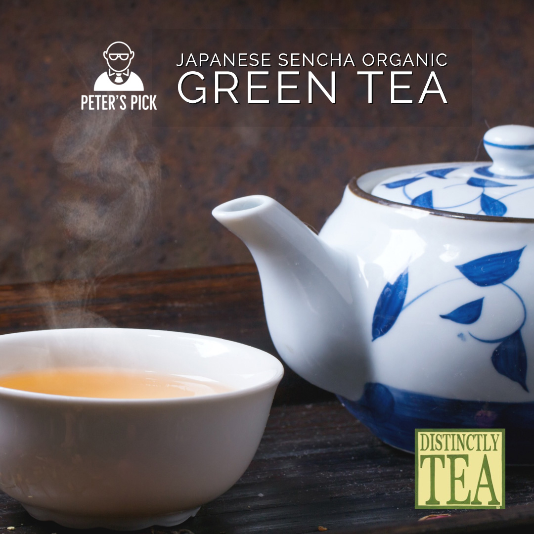 Japanese Sencha Organic Green Tea from distinctly tea 2