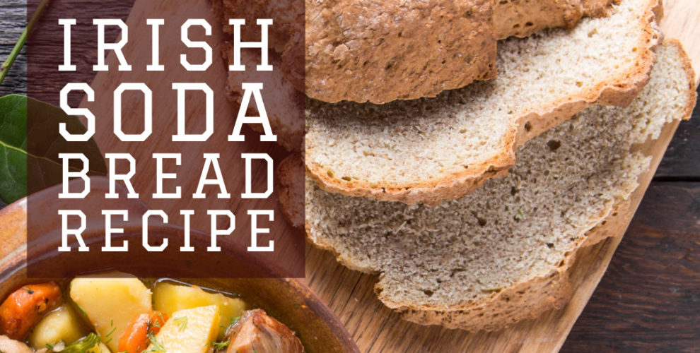 Irish Soda Bread Recipe from Distinctly tea inc copy