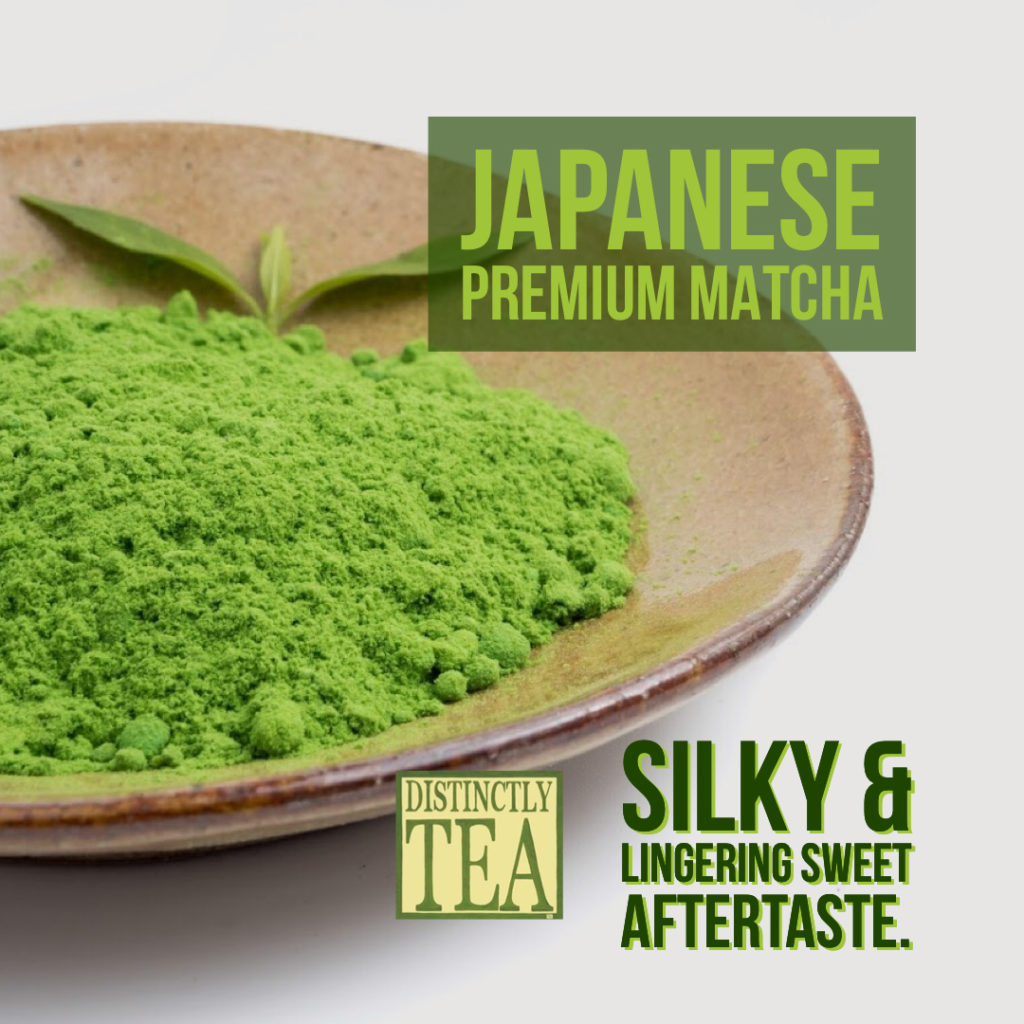 Our best Matcha grade. - distinctly tea inc