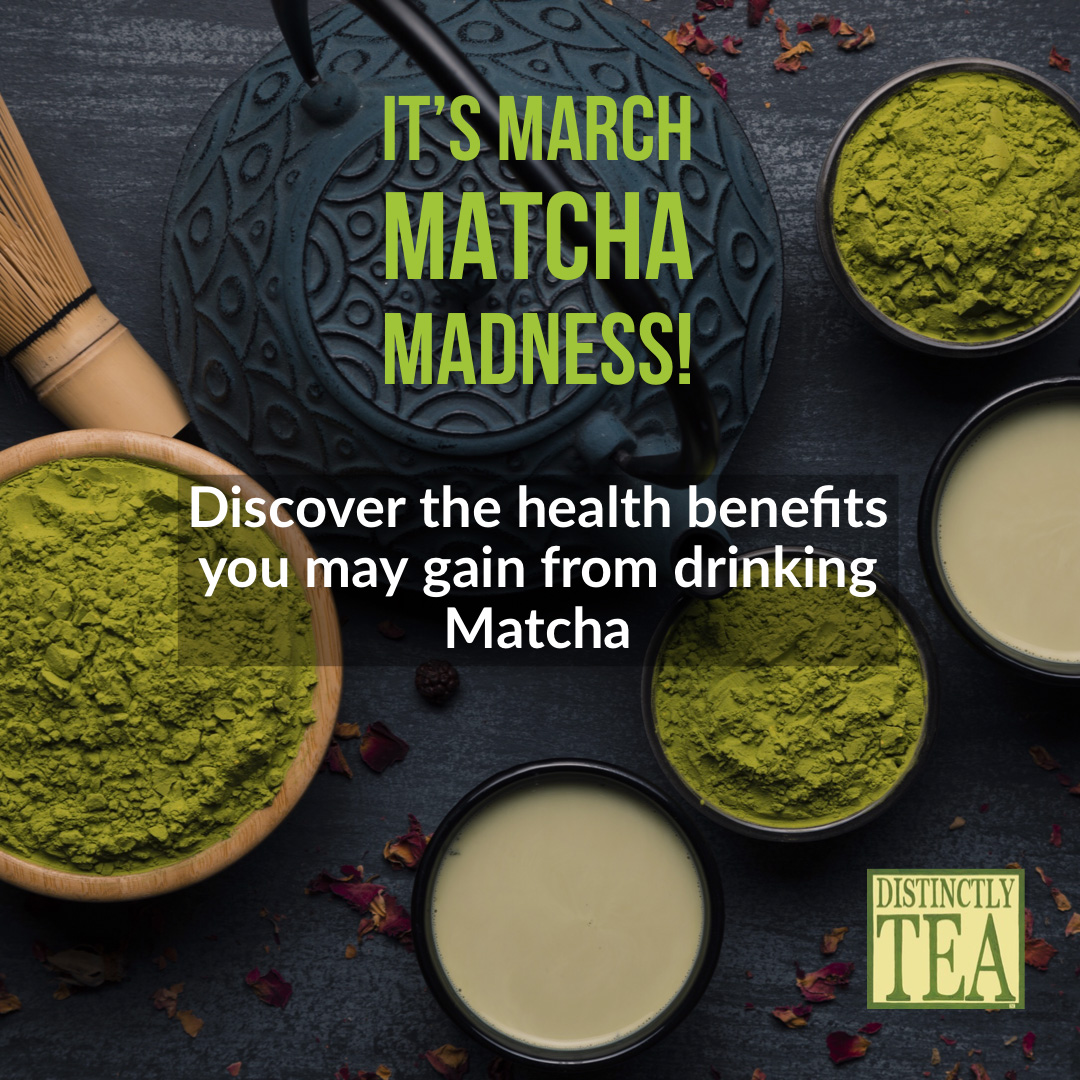 Mighty Matcha! March is the time to go green!