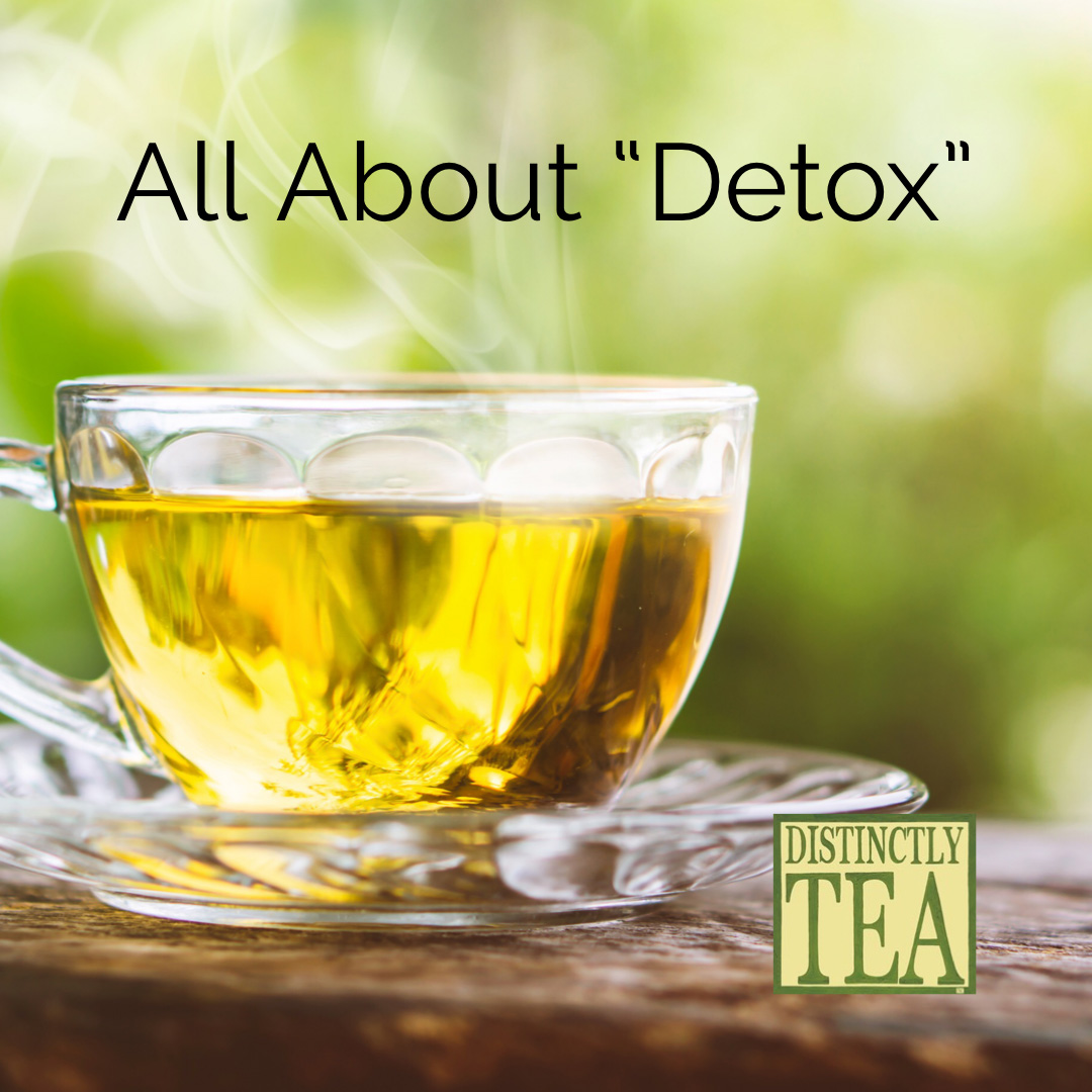 Detox teas from distinctly tea inc