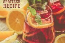 TEA Spritzer recipe from distinctly tea