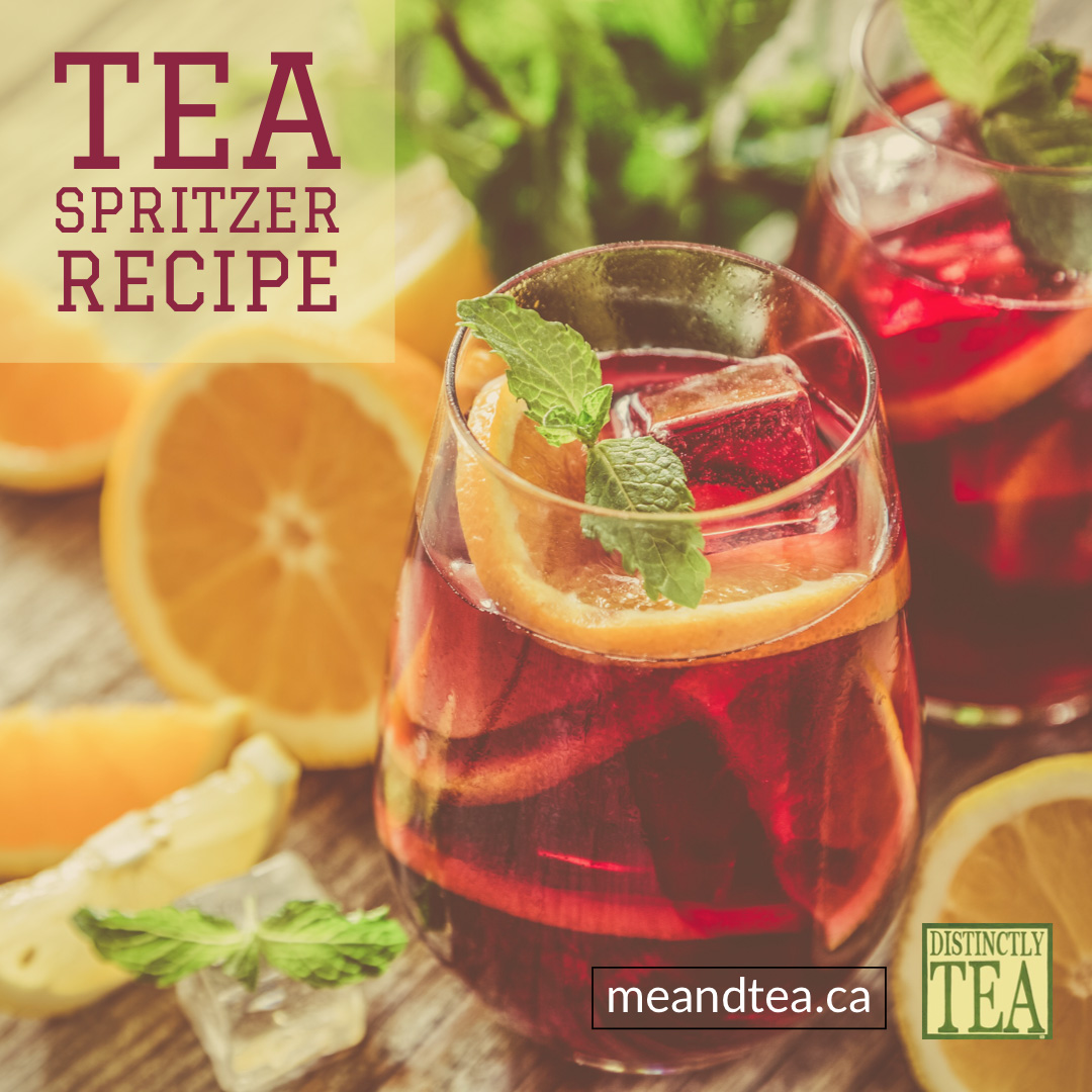 TEA Spritzer recipe from distinctly tea