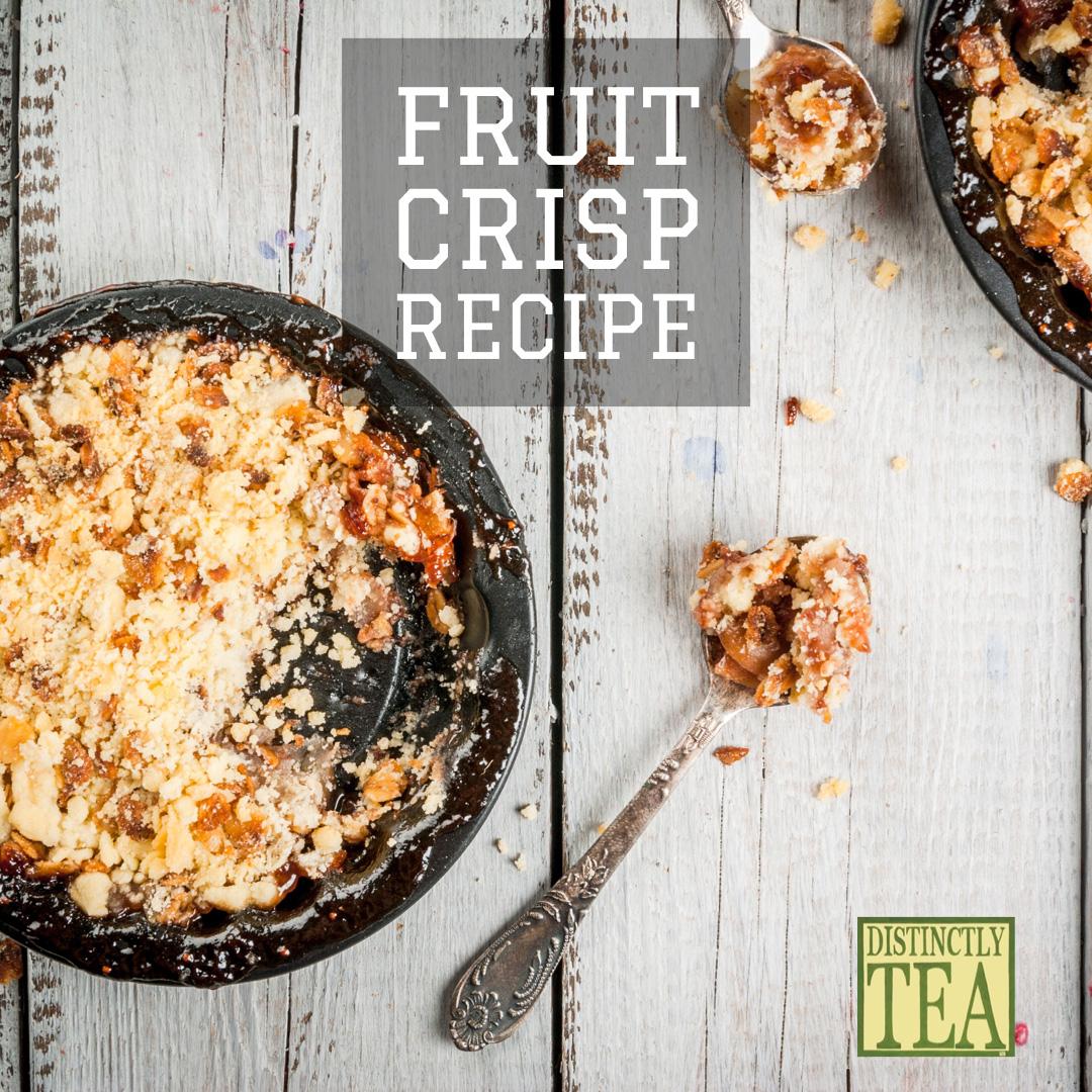 fruit crisp recipe from distinctly tea