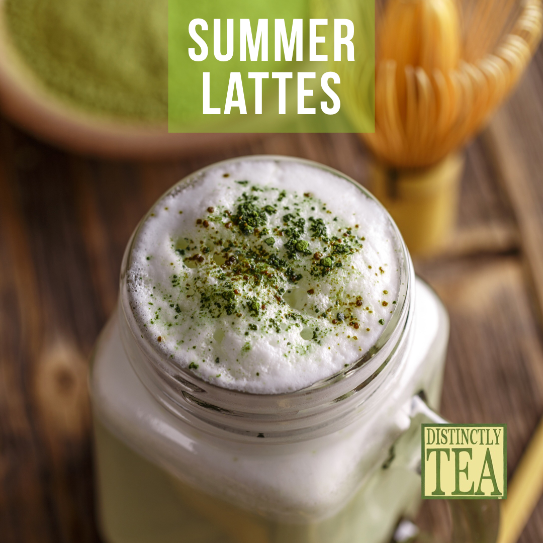 summer lattes from distinctly tea