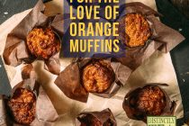 for the love of orange muffins recipe from distinctly tea