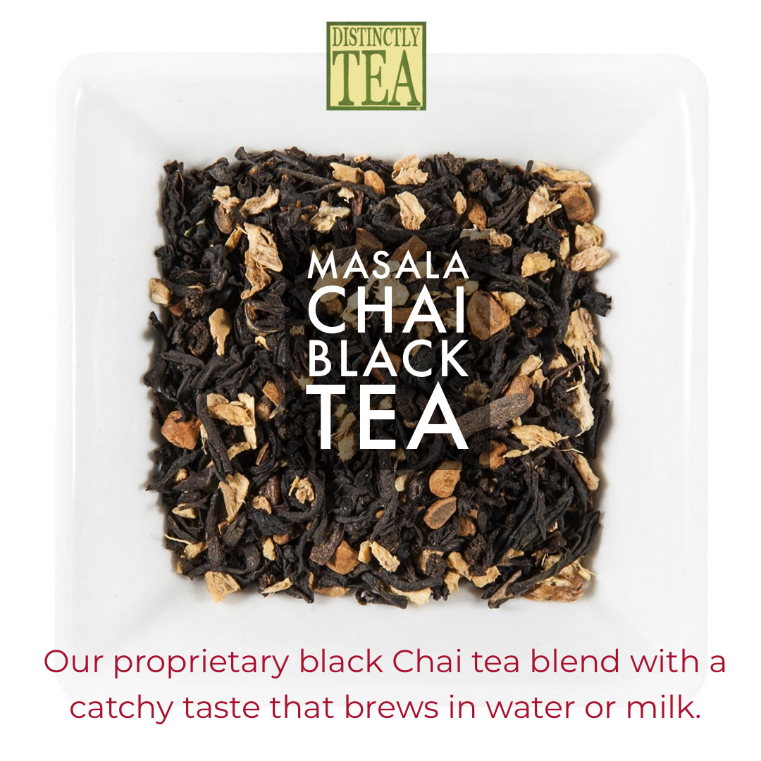 masala chai black tea from distinctly tea