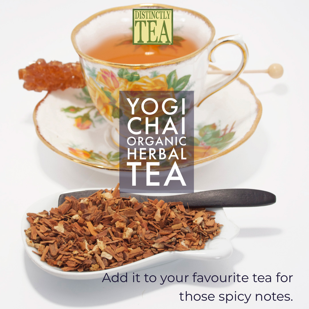 yogi chai herbal tea from distinctly tea inc