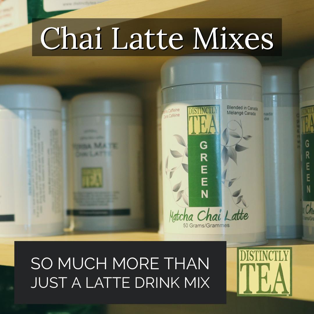 chai latte mix from distinctly tea inc