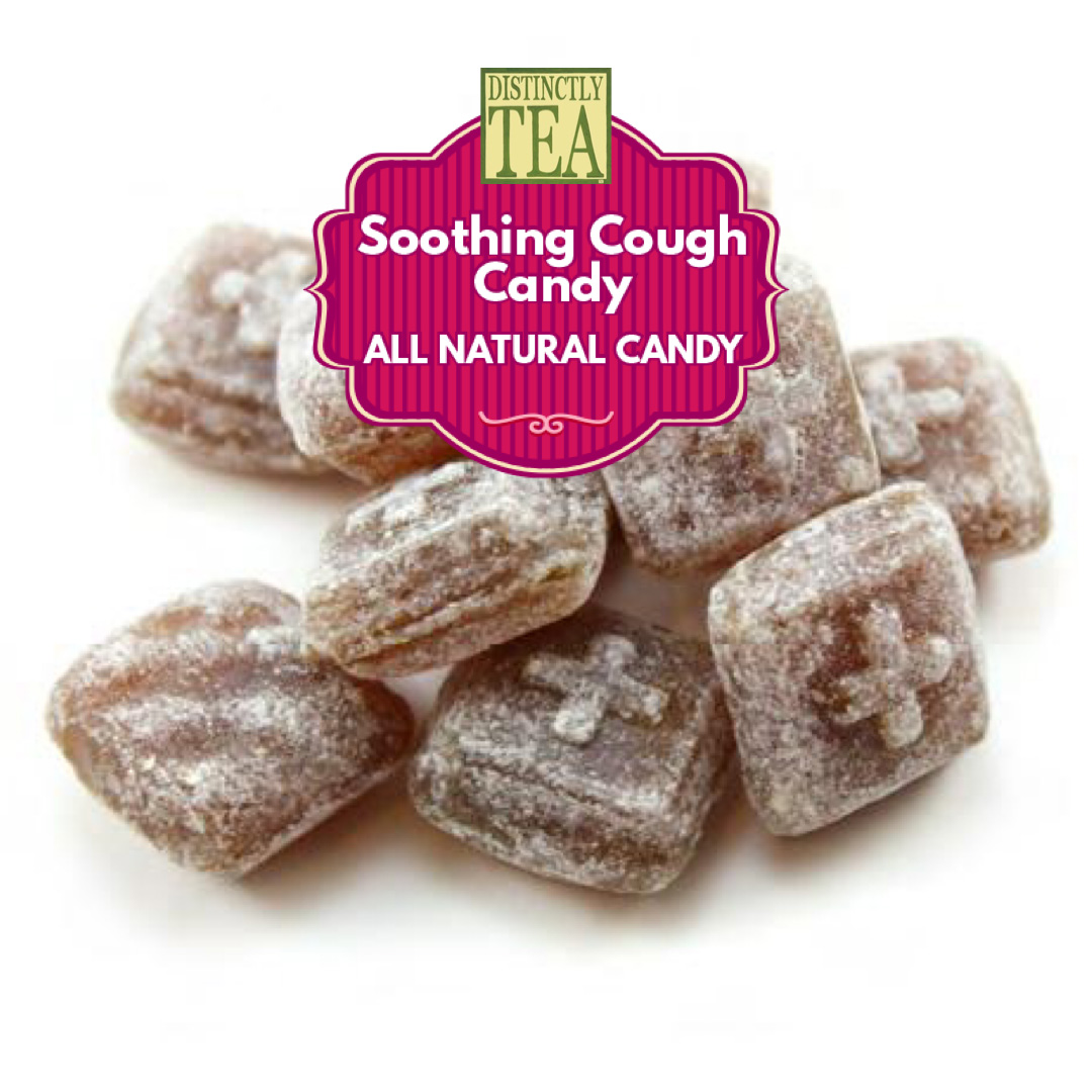 soothing cough candy from distinctly tea