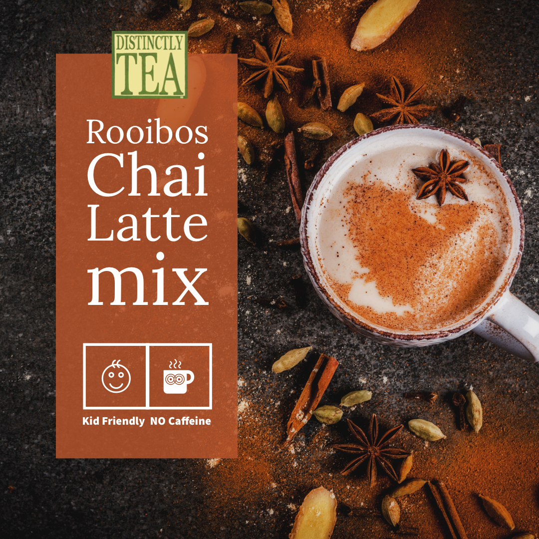9202T Rooibos Chai Latte mix from Distinctly Tea inc
