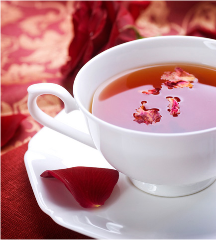 Distinctly tea rose tea