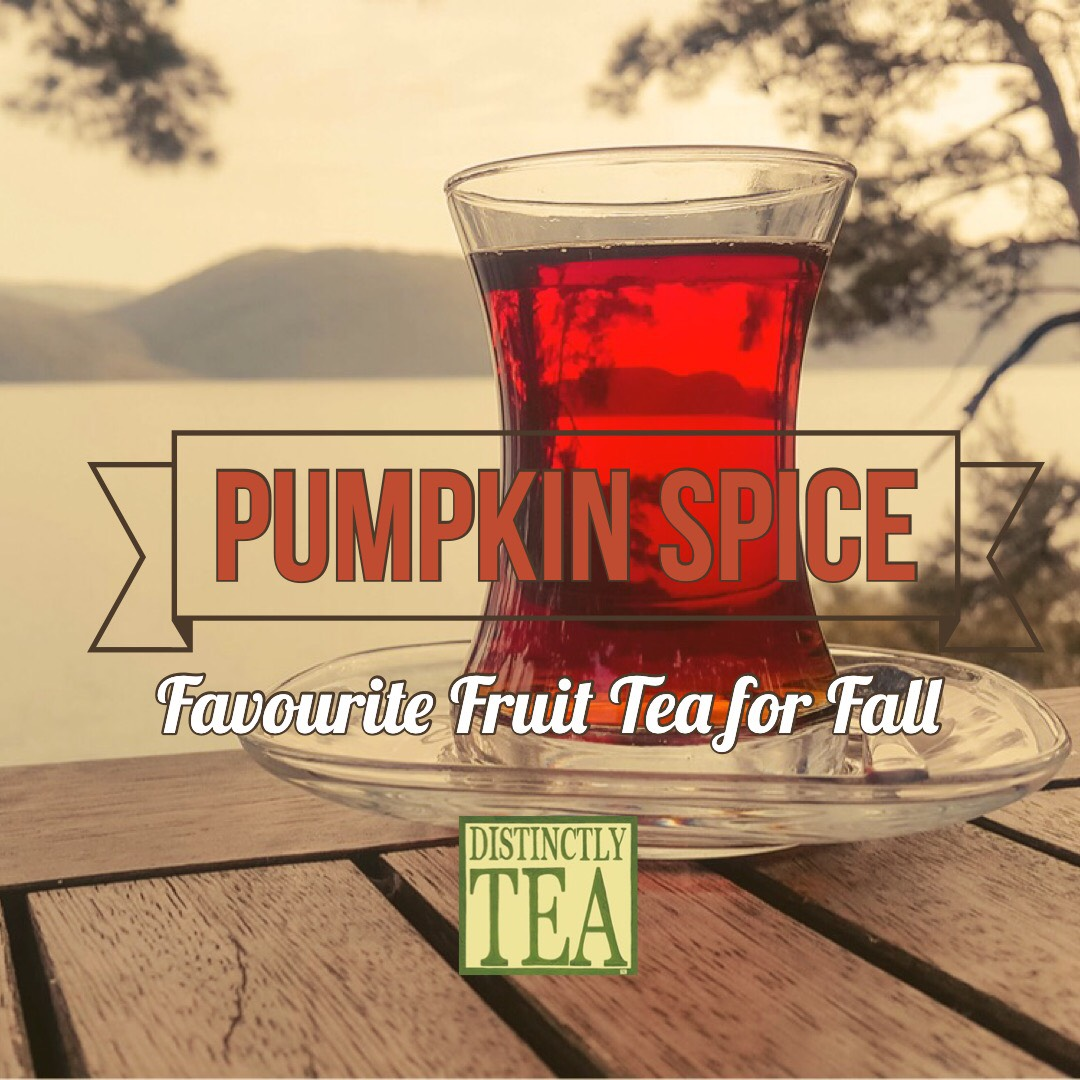 fall tea - pumpkin spice favourite fruit tea