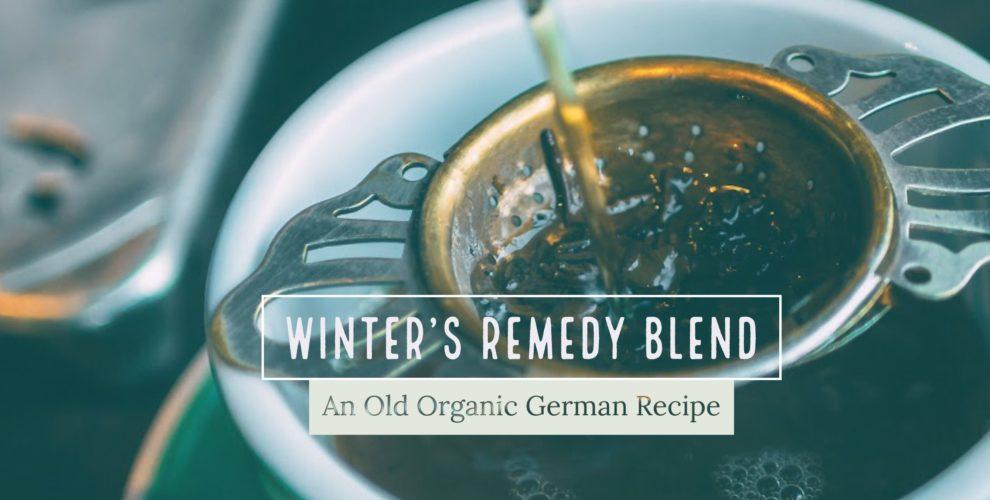 winters remedy tea from Distinctly Tea Inc.