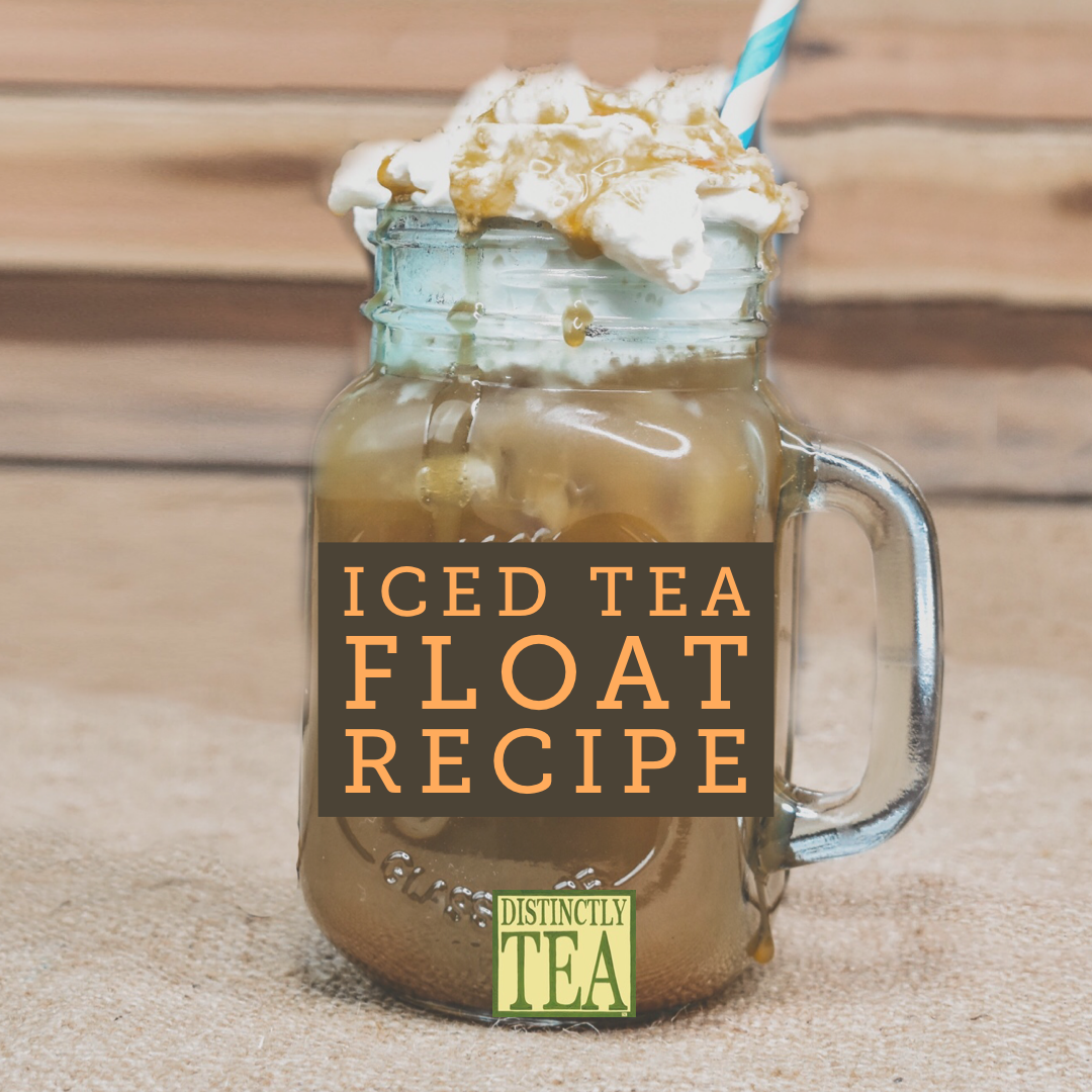 iced tea float recipe from distinctly tea inc 3