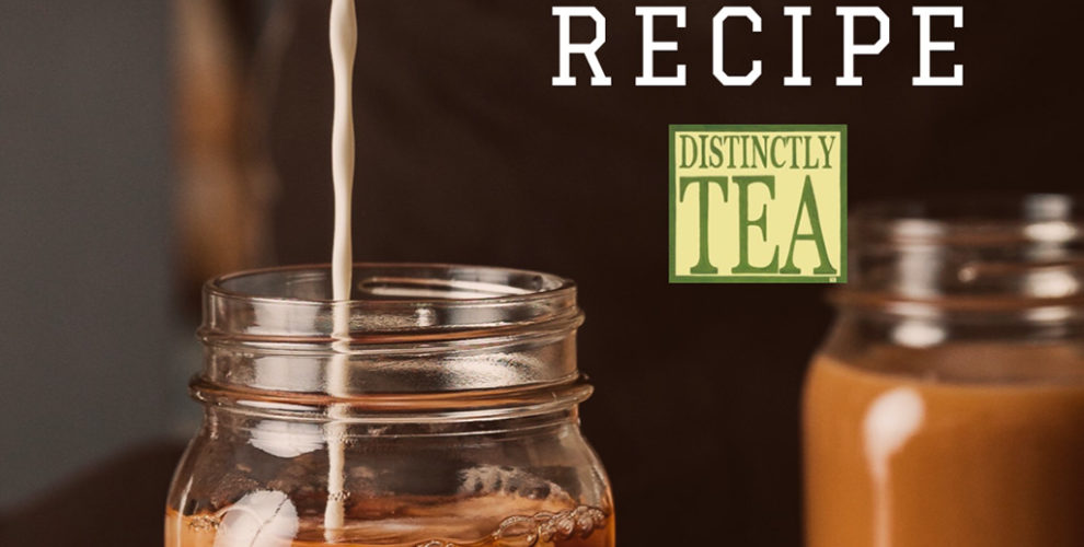 homemade pumpkin spice latte recipe from distinctly tea inc