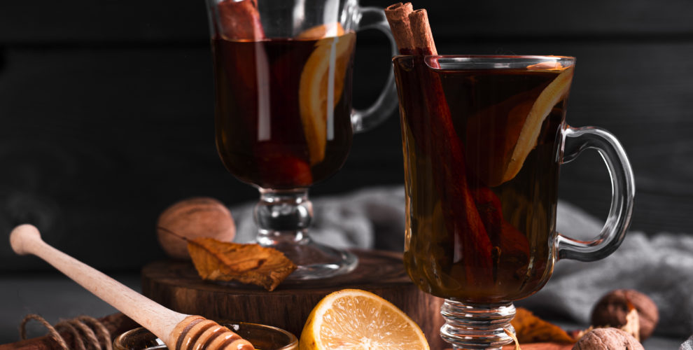 Hot apple cider chai tea recipe from Distinctly Tea Inc