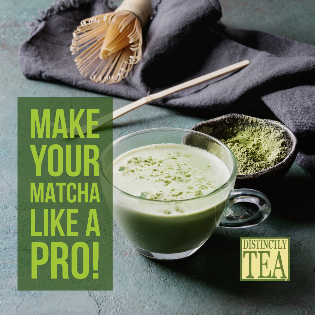 make your matcha like a pro with distinctly tea matcha tools