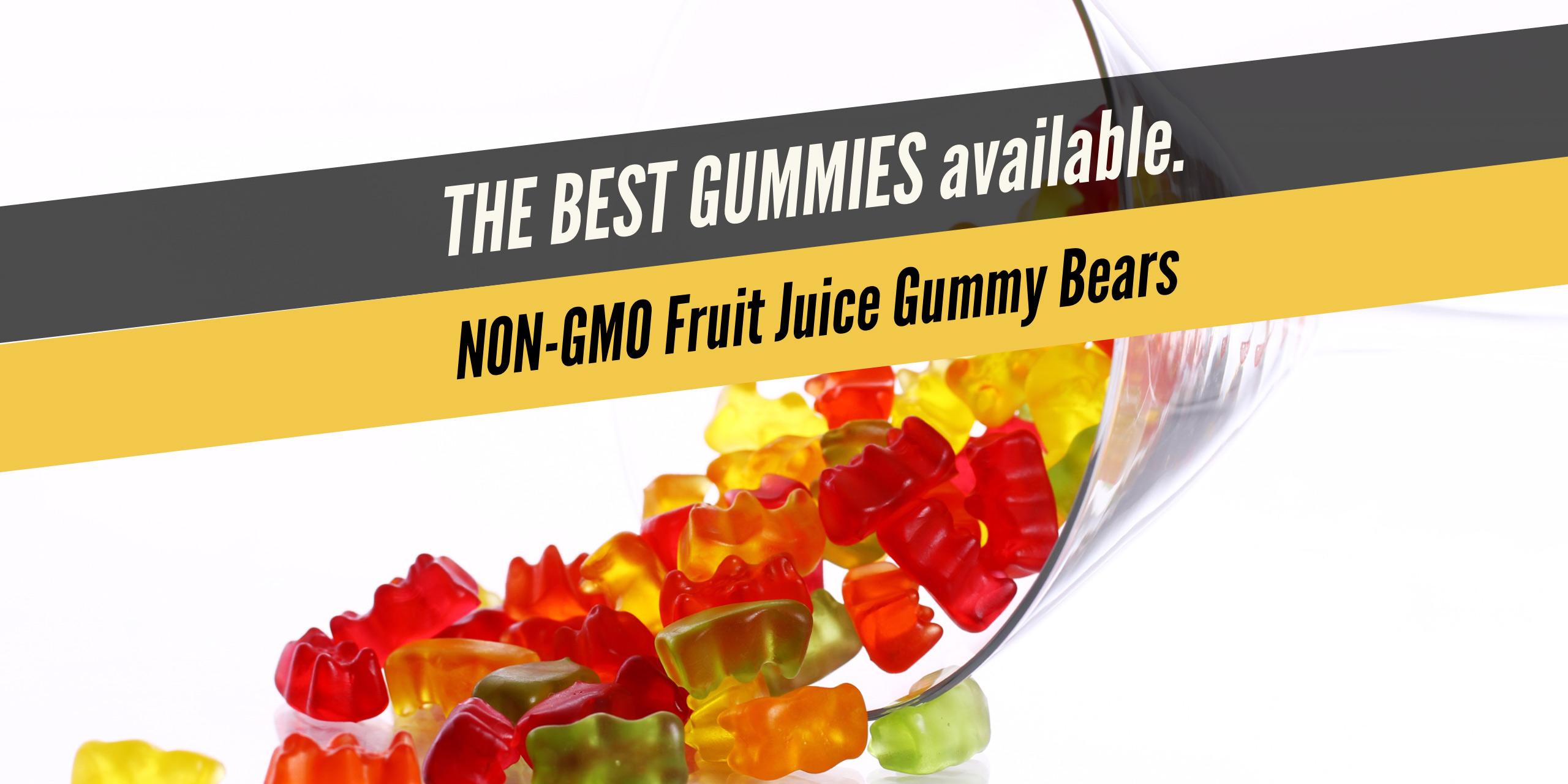 FJGB - Fruit Juice Gummy Bears - distinctly tea