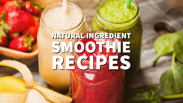Natural ingredient smoothie recipes distinctly tea