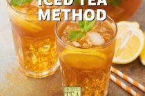 Cold Brew Iced Tea Method from Distinctly tea