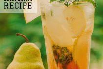Pear Sangria recipe from distinctly tea