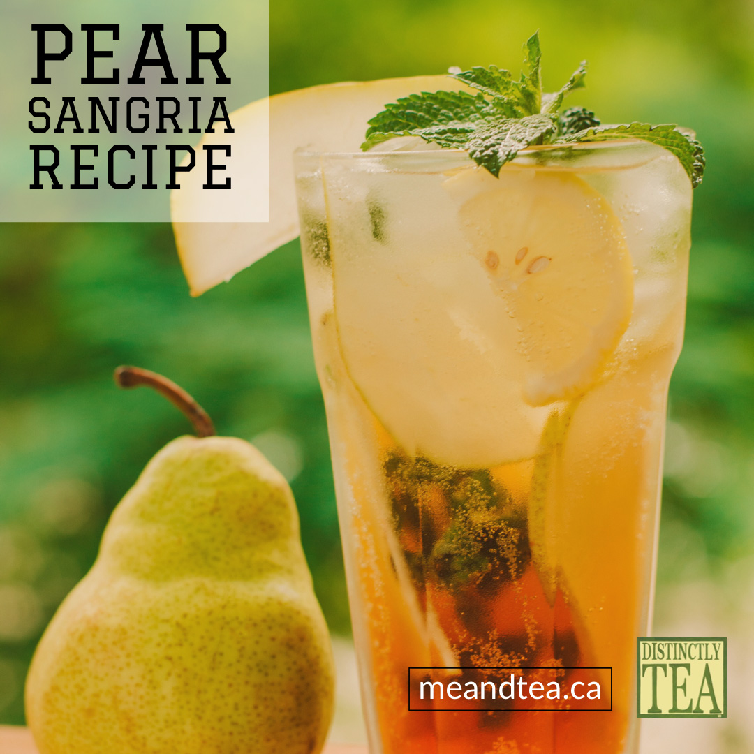 Pear Sangria recipe from distinctly tea