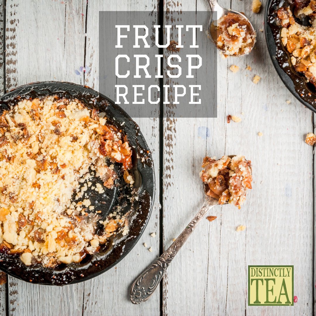 fruit crisp recipe from distinctly tea