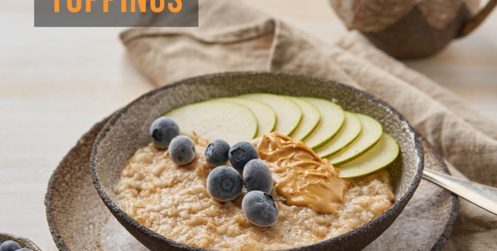 yummy oatmeal topping ideas from distinctly tea blog