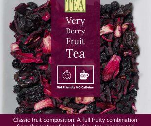 Very Berry Fruit ICED Tea - distinctly tea inc SKU 8730-50